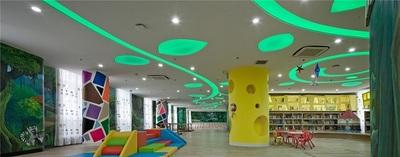 济南伊顿国际幼儿园装修-600m?早教中心设计