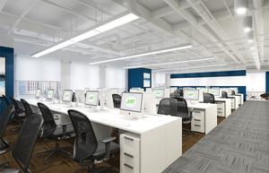 3260平米-水滴筹-办公室装修设计
