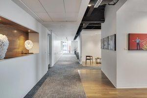 1400平米办公室设计装修效果
