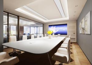 440平米-艾拉丁网络-办公室装修设计