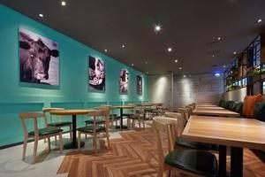 牛排西餐店装修--济南新开元餐饮有限企业