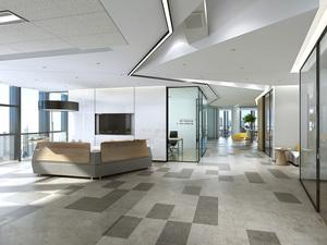 济南正欧实业--700平办公室装修