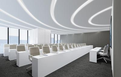 700平米-中青财富-办公室装修设计