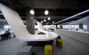 济南办公室装修--2000m?易车信息科技有限企业