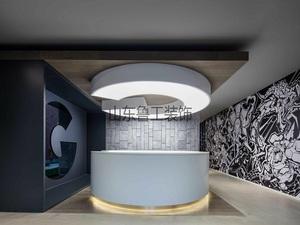 中世律师事务所-900㎡办公空间设计