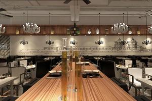 现代风餐厅装修
