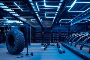 济南健身房装修-瑞脊健身娱乐会所设计