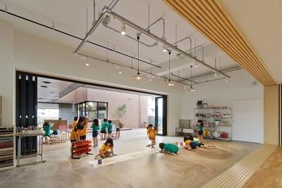民办九州幼儿园--济南幼儿园装修设计