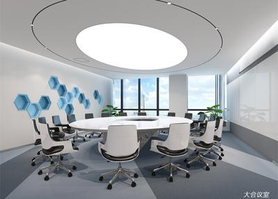 6000平米-山东淳中科技-办公室装修