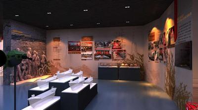 某军区国防教育基地展厅设计