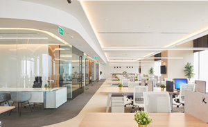 500m?办公室装修--弘成科技发展有限企业